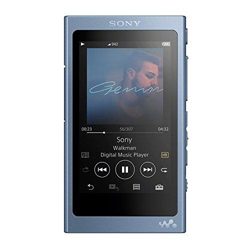 ソニー SONY ウォークマン Aシリーズ 16GB NW-A45 : Bluetooth/microSD/ハイレゾ対応 最大39時間連続再生 2017年モデル ムーンリットブルー NW-A45 L