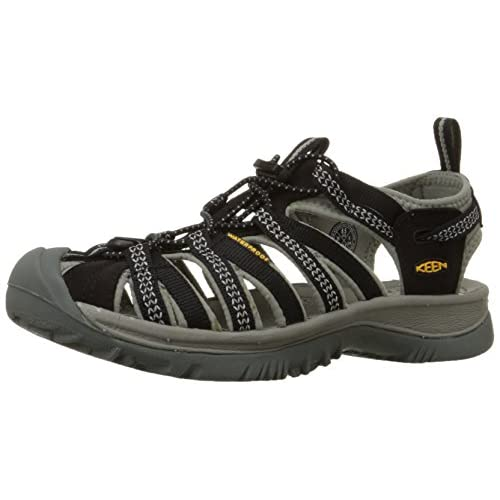 [キーン] KEEN Whisper Whisper 1008448 (Black/Neutral Gray/23.5)