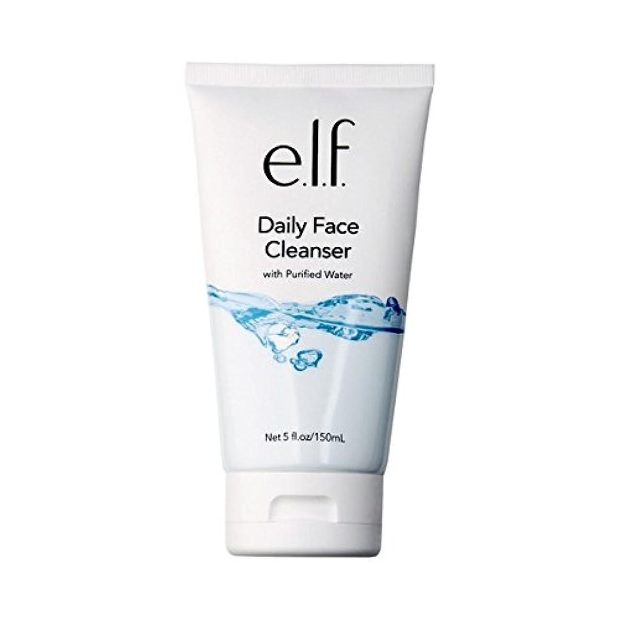 廃止するアクセスできない落ち着く(3 Pack) e.l.f. Daily Face Cleanser (並行輸入品)