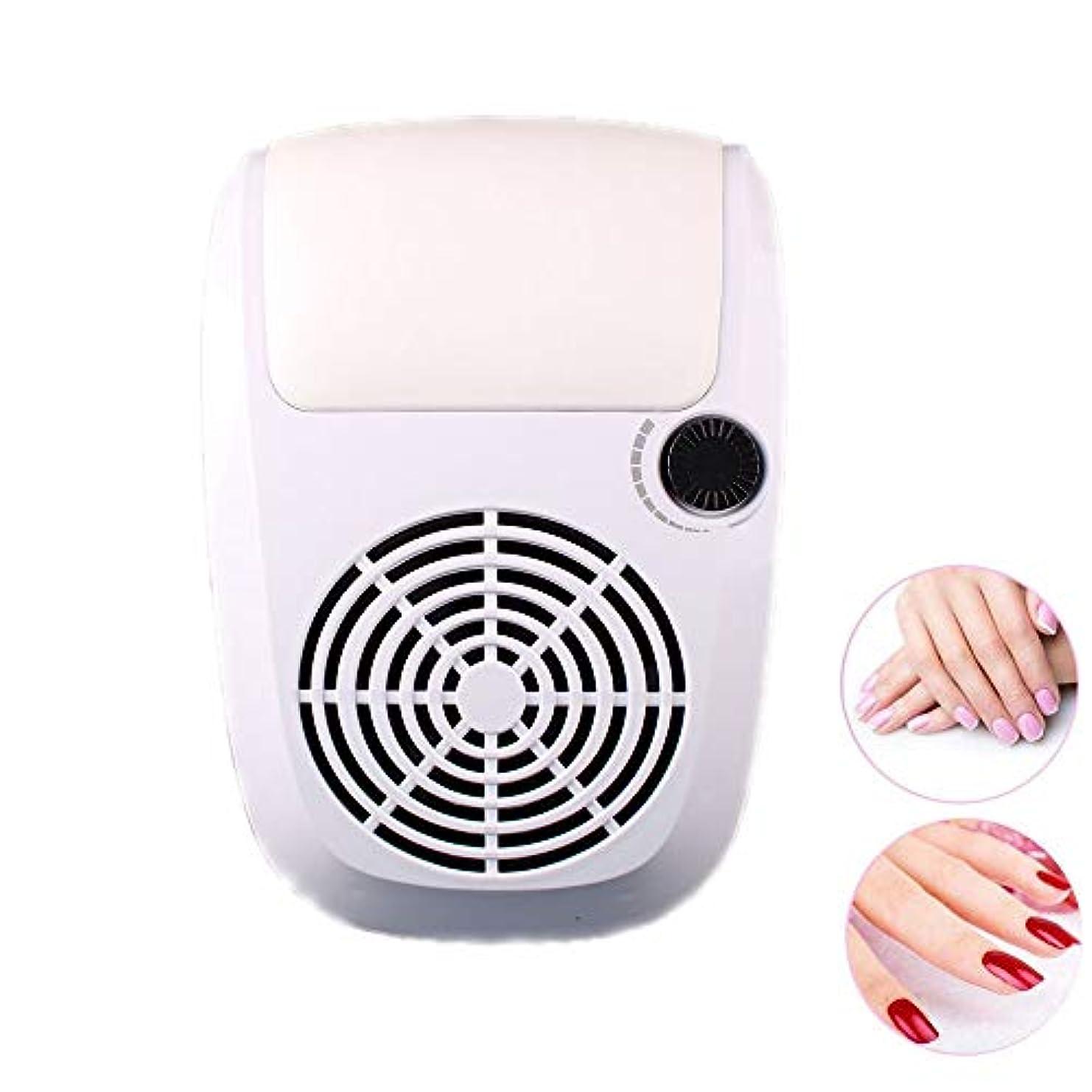 スペクトラムさわやかドット調節可能な掃除機、2つの塵袋が付いている調節可能で強力で釘の掃除機のマニキュア用具、実用的で釘の大広間のクリーニング装置,白