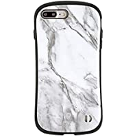 iFace First Class Marble iPhone 8Plus / 7Plus ケース 耐衝撃/ホワイト
