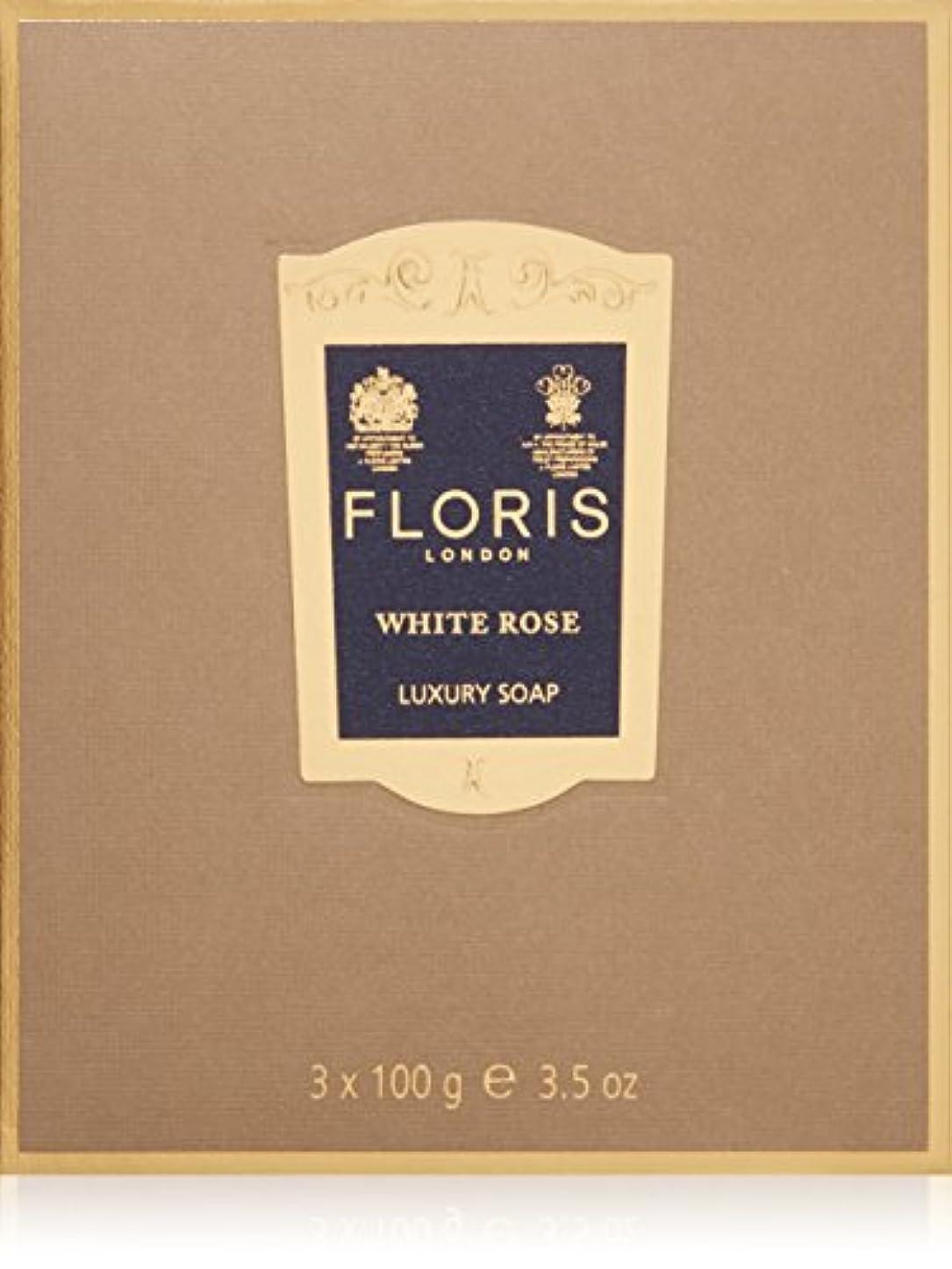 チチカカ湖ダイジェストアトミックフローリス ラグジュアリーソープWR(ホワイトローズ)3x100g/3.5oz