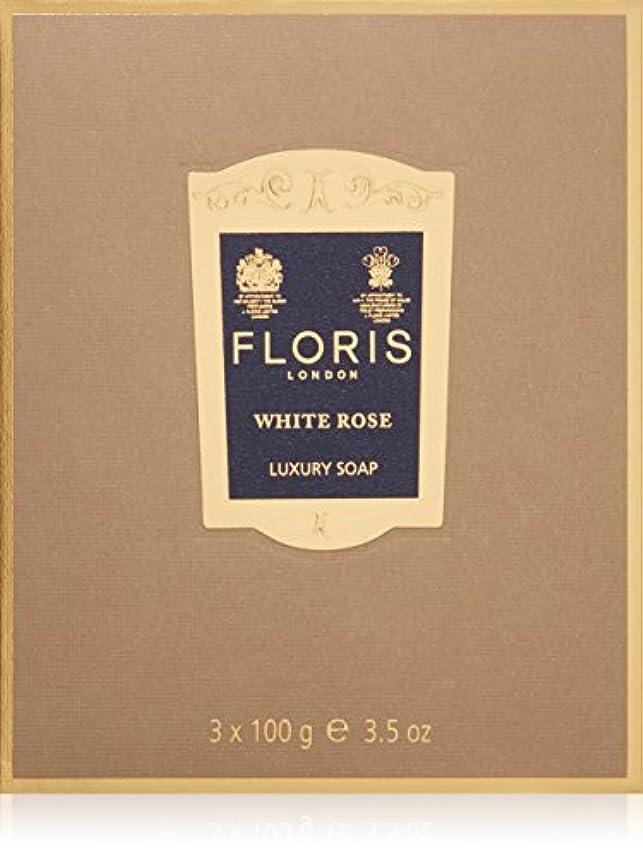 理解単語同じフローリス ラグジュアリーソープWR(ホワイトローズ)3x100g/3.5oz