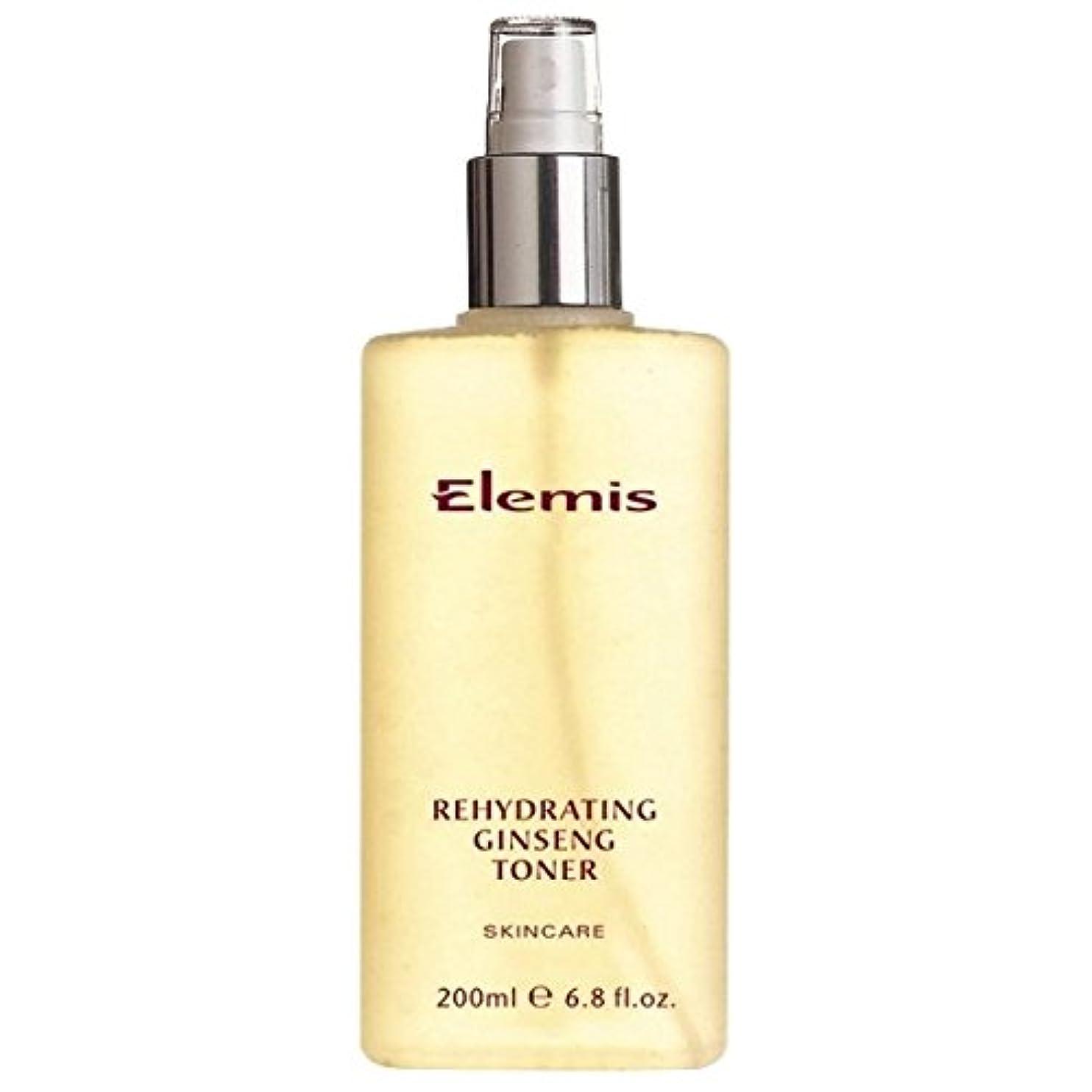 フラップ切断するチェリーエレミスは、高麗人参のトナーを再水和スキンケア (Elemis) (x2) - Elemis Skincare Rehydrating Ginseng Toner (Pack of 2) [並行輸入品]