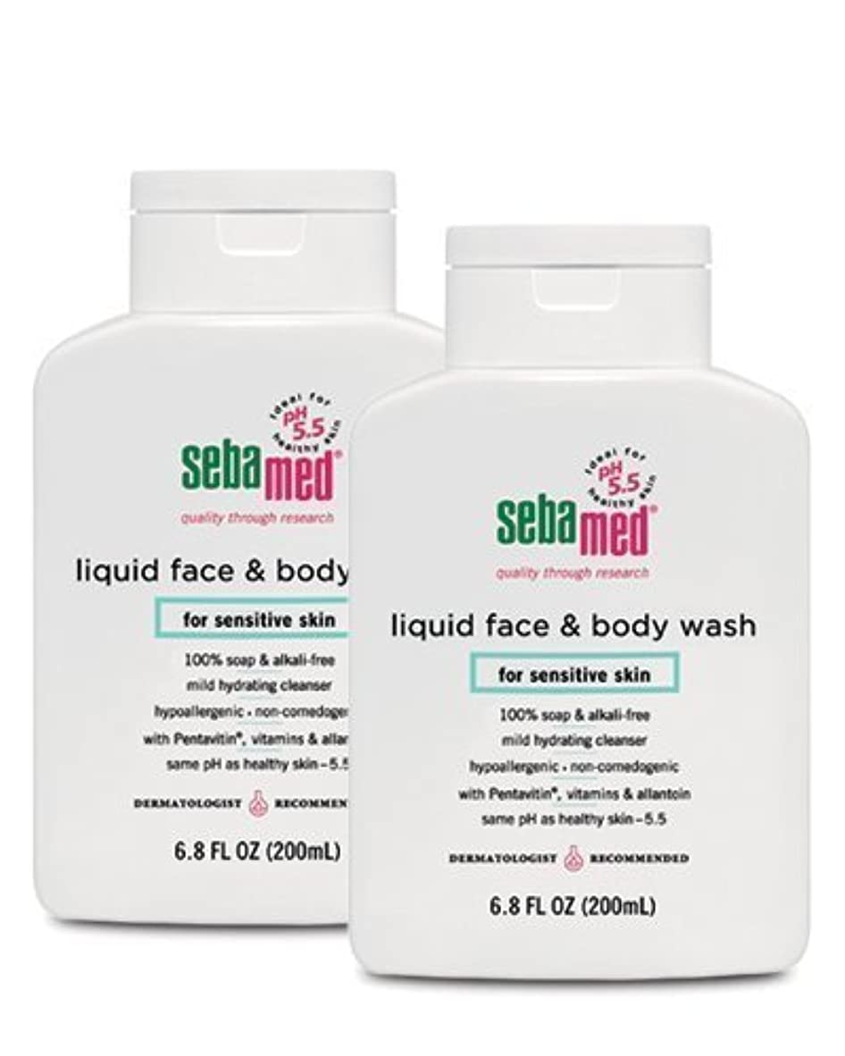 特殊聴覚障害者ホイッスルSebamed Face and Body Wash, 6.8 Fluid Ounce Bottle by Sebamed [並行輸入品]