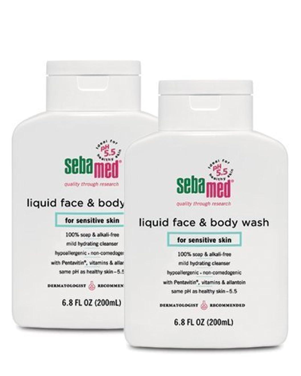 れんがアブセイエキスパートSebamed Face and Body Wash, 6.8 Fluid Ounce Bottle by Sebamed [並行輸入品]