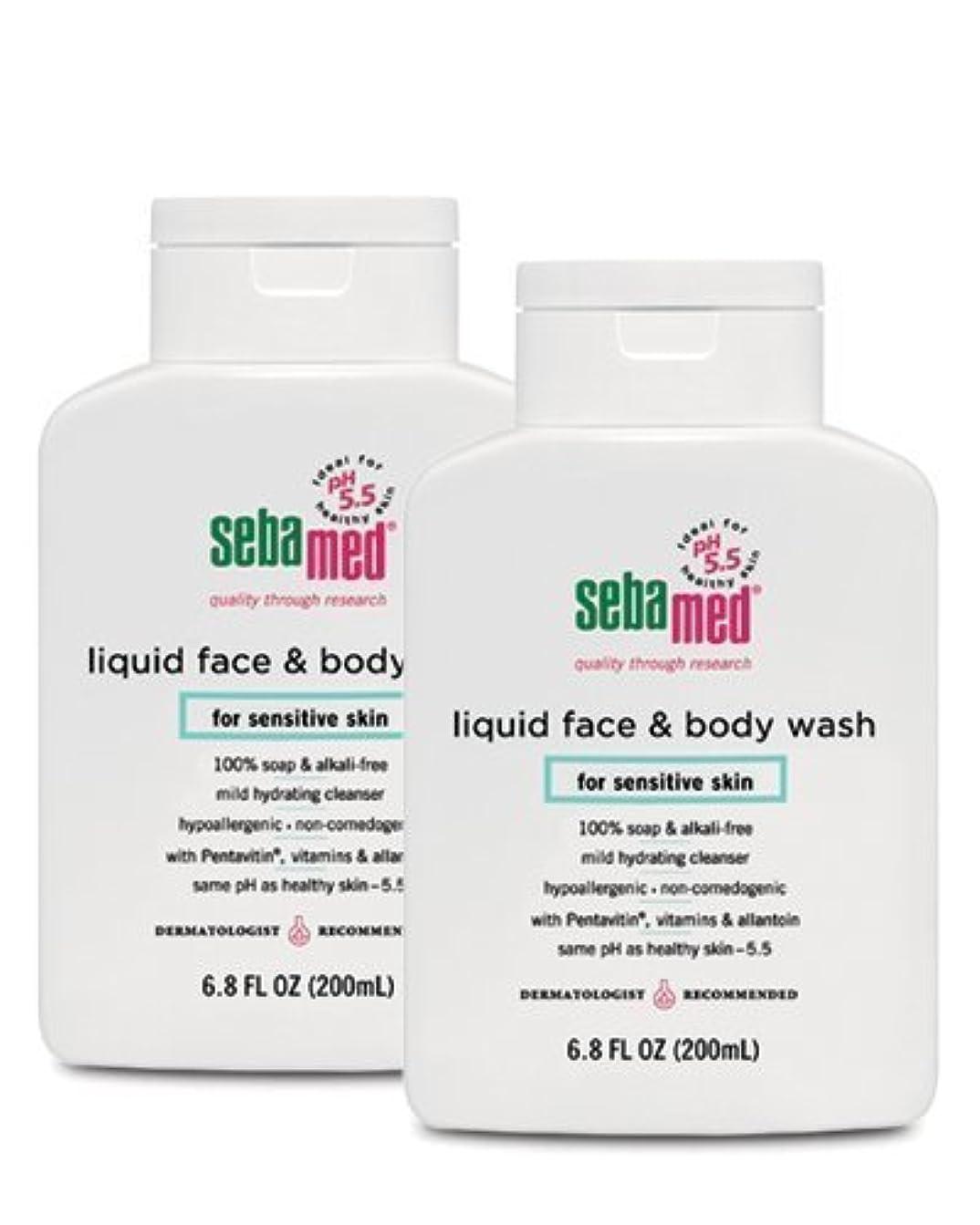 人工的な湿地薬理学Sebamed Face and Body Wash, 6.8 Fluid Ounce Bottle by Sebamed [並行輸入品]
