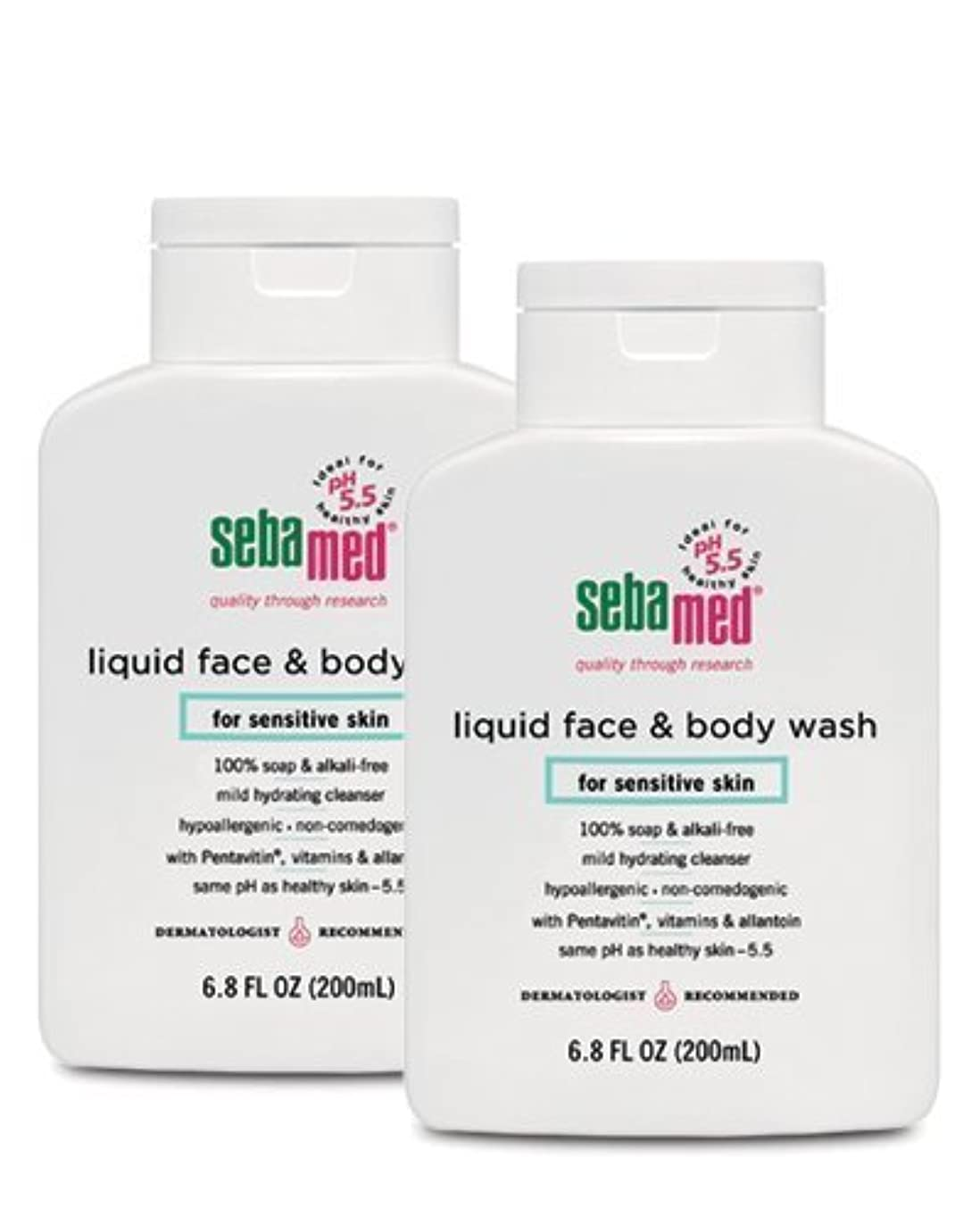 アーチ日記お互いSebamed Face and Body Wash, 6.8 Fluid Ounce Bottle by Sebamed [並行輸入品]