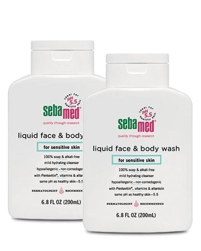 現代の展示会レインコートSebamed Face and Body Wash, 6.8 Fluid Ounce Bottle by Sebamed [並行輸入品]