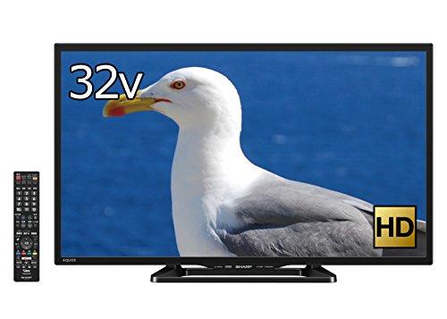 SHARP 32型 AQUOS 液晶テレビ 外付HDD対応 WIFI対応