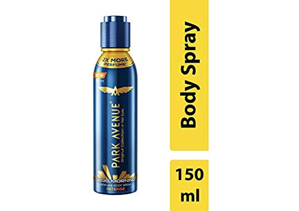 結び目文庫本仲間、同僚Park Avenue Good Morning Perfume Intense Body Spray, 150ml