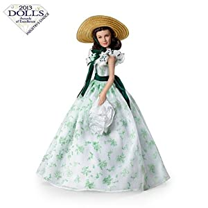 Gone With The Wind Fashion Doll: Scarlett, Belle Of The Barbecue by Ashton Drake ドール 人形 フィギュア(並行輸入)