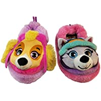 ACI International Paw Patrol Slippers for Girls with Skye and Everest
