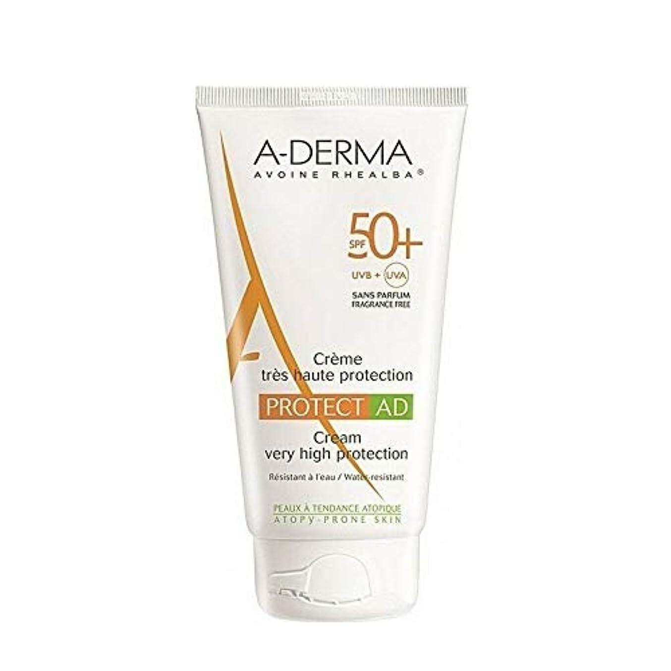 巻き取り郵便番号形容詞A-DERMA Protect AD sun cream サンクリーム (150ml) SPF50+/PA+++ フランス日焼け止め