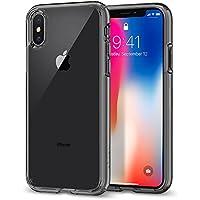 【Spigen】 スマホケース iPhone XS ケース/iPhone X ケース 5.8インチ 対応 全面クリア 耐衝撃 米軍MIL規格取得 ウルトラ・ハイブリッド 057CS22131 (スペース・クリスタル)