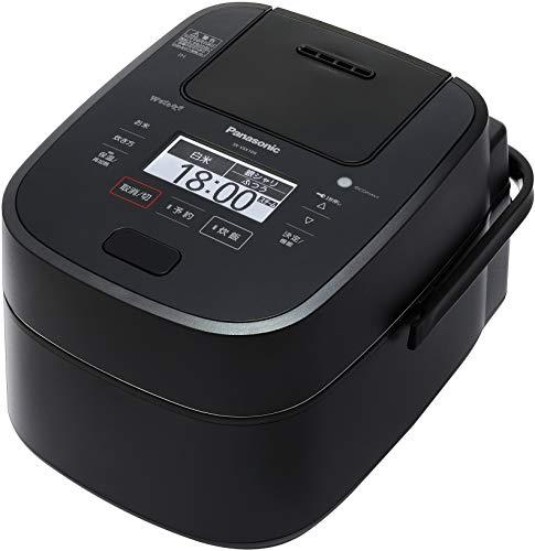 パナソニック 5.5合 炊飯器 圧力IH式 Wおどり炊き ブラック SR-VSX109-K
