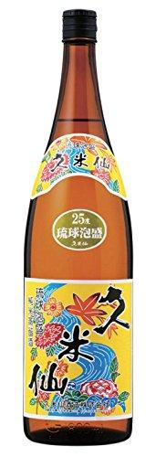 久米仙酒造 久米仙紅型1升瓶 25度 1800ml  [沖縄県]