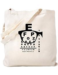 CafePress – Blurr Eyeテストチャート – ナチュラルキャンバストートバッグ、布ショッピングバッグ S ベージュ 1914171914DECC2