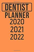 Dentist Planner 2020 2021 2022: Planner 3 Year Monthly Organizer & Agenda with 36 Months Superhero Planner For Gift, 6 x 9 inch 120 Page Soft Cover Matte Finishing
