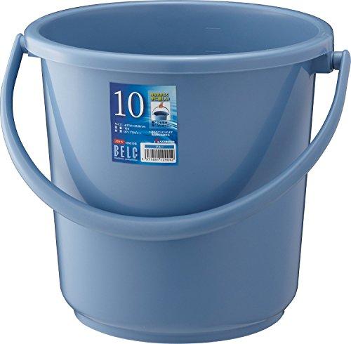 リス『使い易いバケツ』 ベルクバケツ 10SB 本体 ブルー