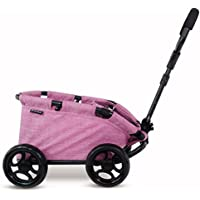 Triokid NEW Design My First Toy Wagon Trioswagon Grape Purple Deluxe Doll Stroller Drawable Fabric