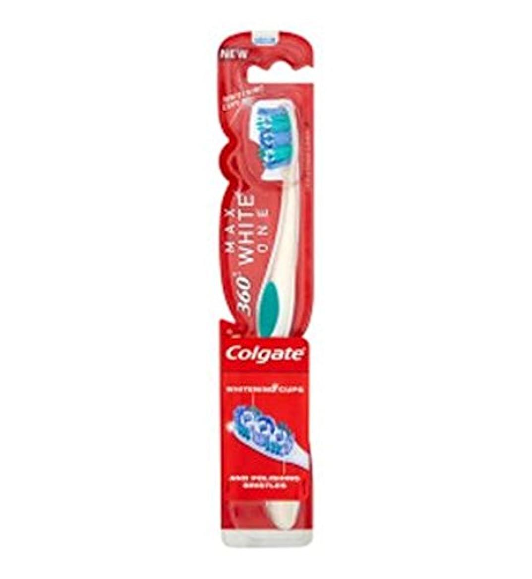 証書修羅場ファイバColgate Max White Toothbrush - コルゲートマックスホワイト歯ブラシ (Colgate) [並行輸入品]