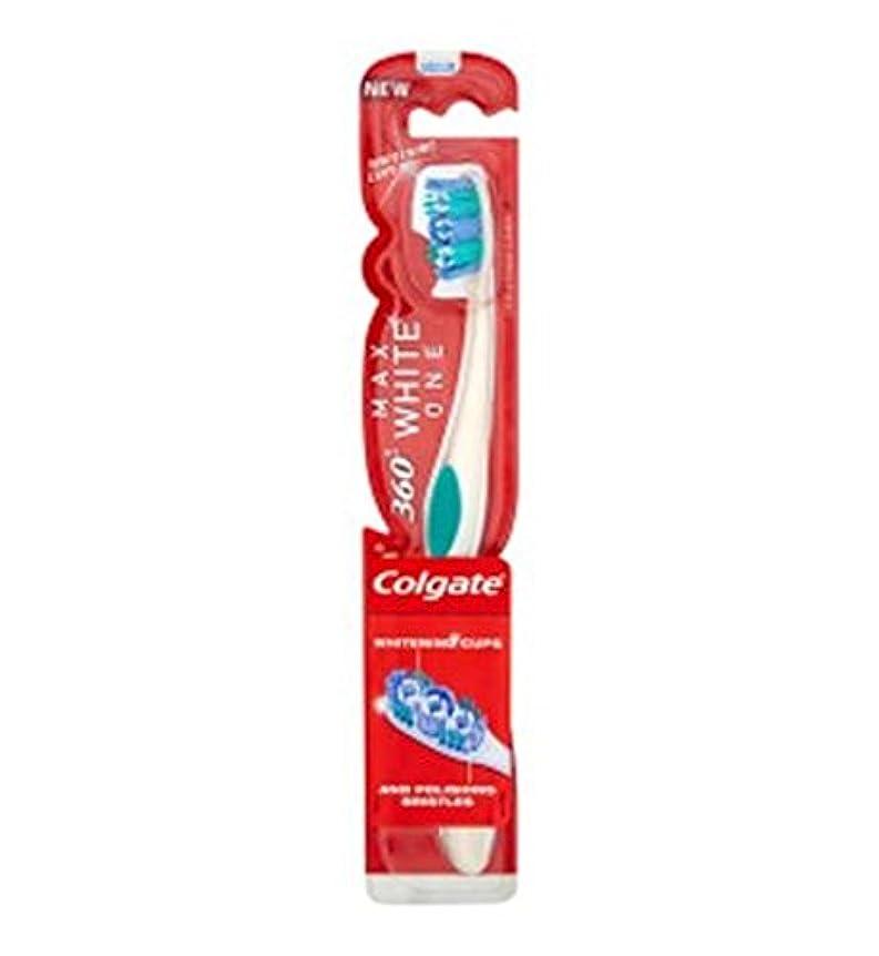 野心的雇用者バッチコルゲートマックスホワイト歯ブラシ (Colgate) (x2) - Colgate Max White Toothbrush (Pack of 2) [並行輸入品]