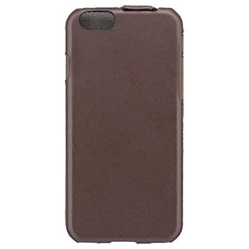 【正規代理店品】 SoftBank SELECTION フリップケース for iPhone 6 / ブラウン SB-IA10-LCWF/BR