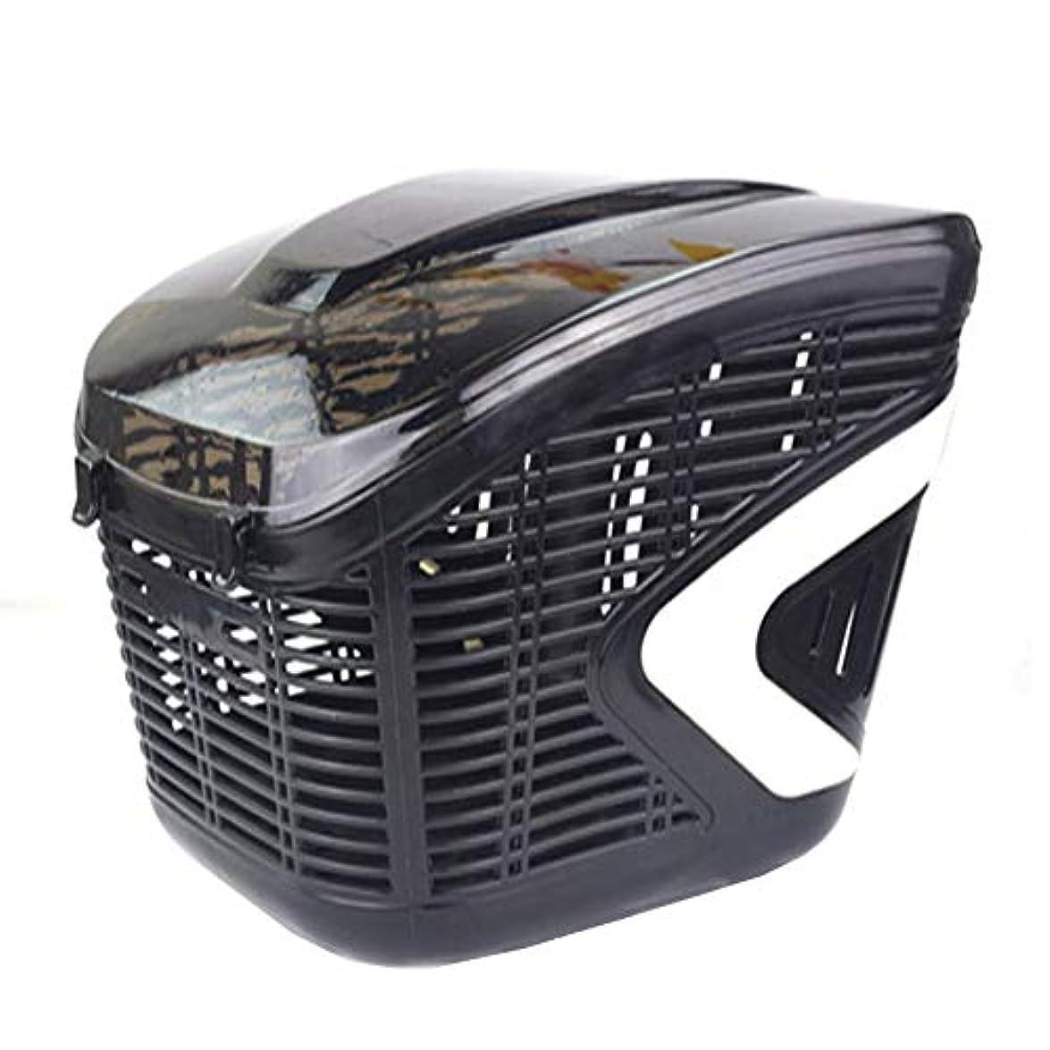 ブルゴーニュについて利得自転車かご、ハンドルバー自転車バスケット、半透明のABSプラスチックバスケット、厚い