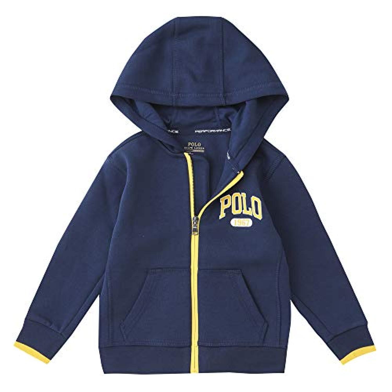 ポロ ラルフローレン キッズ ロゴ トレーナー ニット フード (サイズ:2T、カラー:SPRING NAVY) Polo Ralph Lauren [並行輸入品]