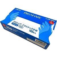 プロシェア プラスチック手袋 パウダー付 L(100枚入) 日用品 キッチン用品 台所用手袋 [並行輸入品] k1-4580110256321-ah