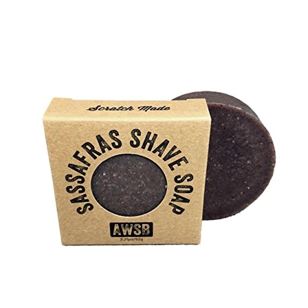 仮装刻むクッションA Wild Soap Bar Sassafras Shaving Soap by A Wild Soap Bar