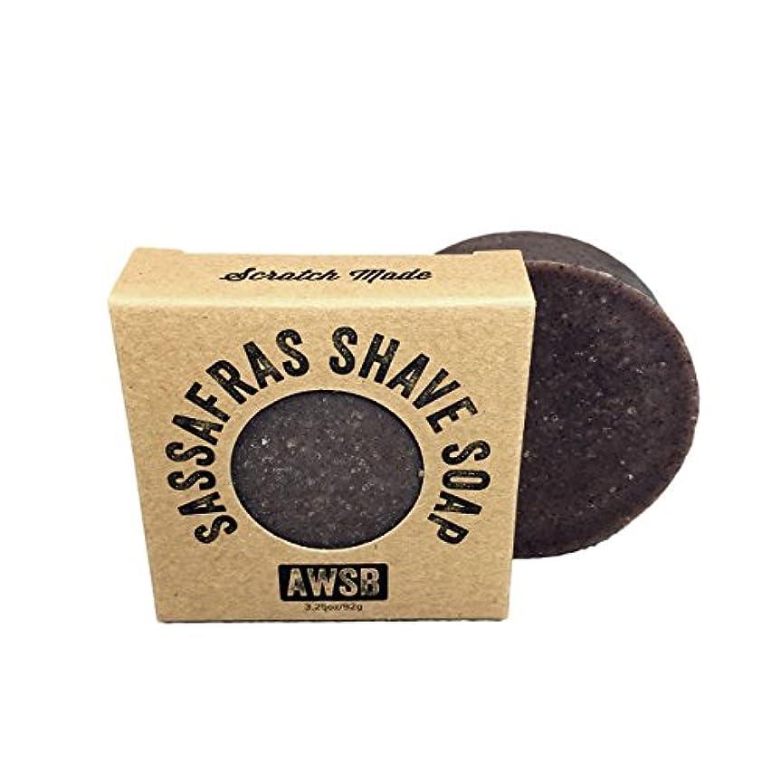ゴール永久アルネA Wild Soap Bar Sassafras Shaving Soap by A Wild Soap Bar