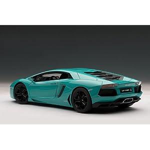 Lamborghini Aventador LP700-4 (Blue) フィギュア ダイキャスト 人形(並行輸入)