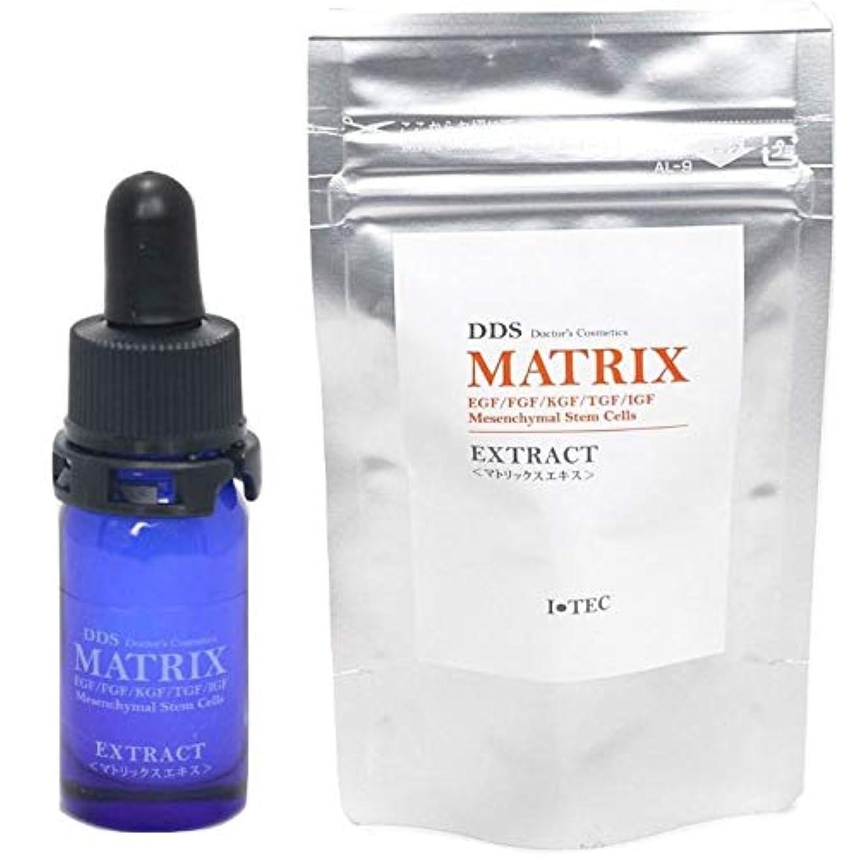 接触対人消費者DDS MATRIX EXTRACT(マトリックス エキス) 5ml ヒト脂肪細胞順化培養液エキス 専用コットン付属