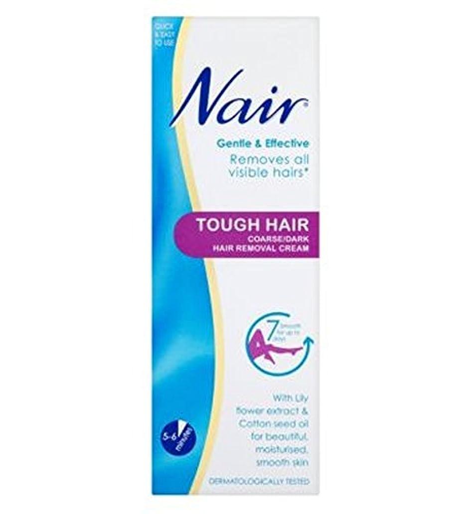 ユニークなドレス広告主Nair Tough Hair Hair Removal Cream 200ml - ナイールタフな毛脱毛クリーム200ミリリットル (Nair) [並行輸入品]
