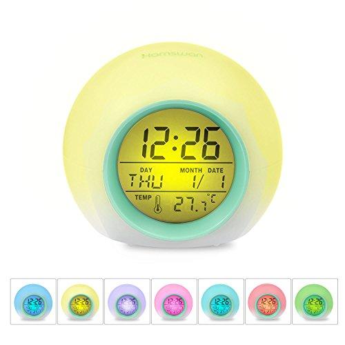 目覚まし時計 HAMSWAN JL-C018デジタル 時計 ...