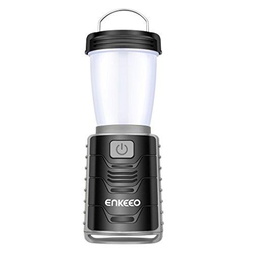 enkeeo LEDランタン 3照明モード 明るさ最大300ルーメン 2200mAh容量 USB充電式 スマホへ緊急充電可能 防水仕様 キャンプ 登山 釣り 作業 防災停電など用 CL-01【メーカー保証】