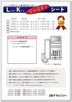 LKすっきりシート(NTT αGX2型18キー用 520台分)LS-NT33-520
