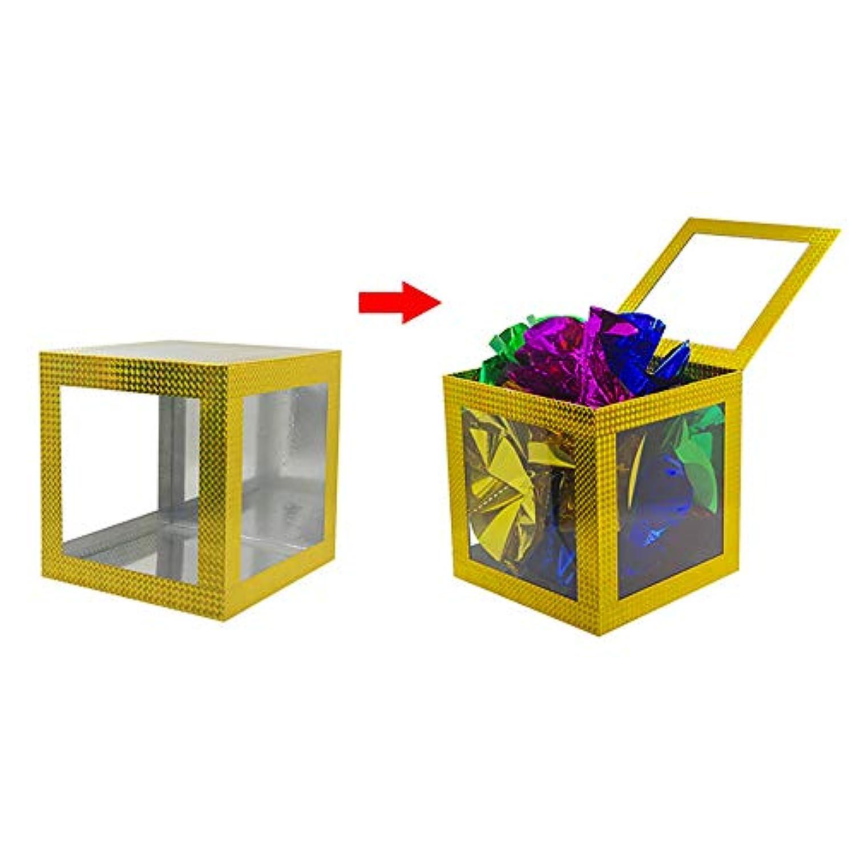 【手品 マジック】プロダクションボックス 透明な箱 透明出現ボックス 空いている箱から物を現れる 舞台用マジック 手品道具