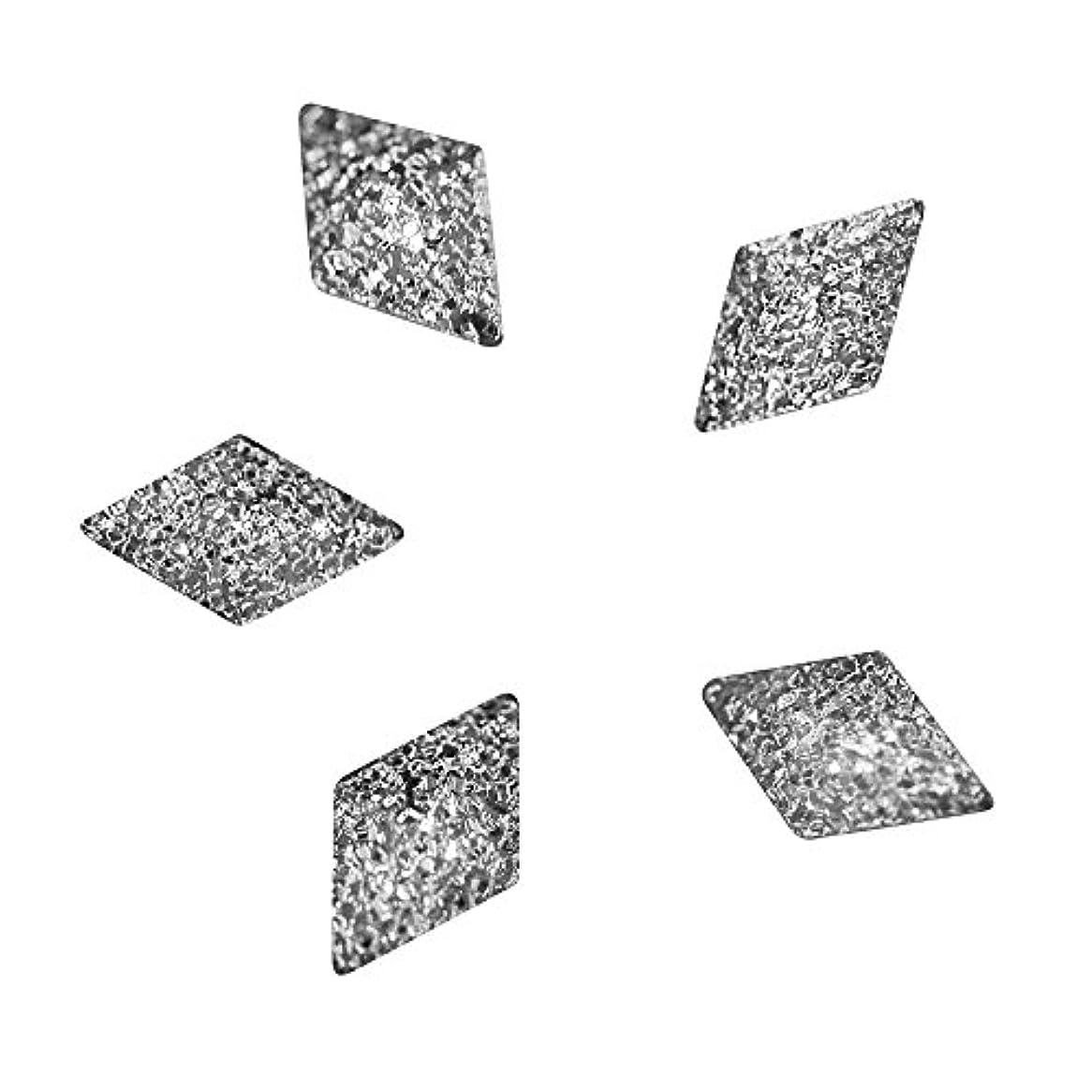 ゴールデン金銭的マサッチョBonnail ラフスタッズシルバー ダイヤ5×3mm