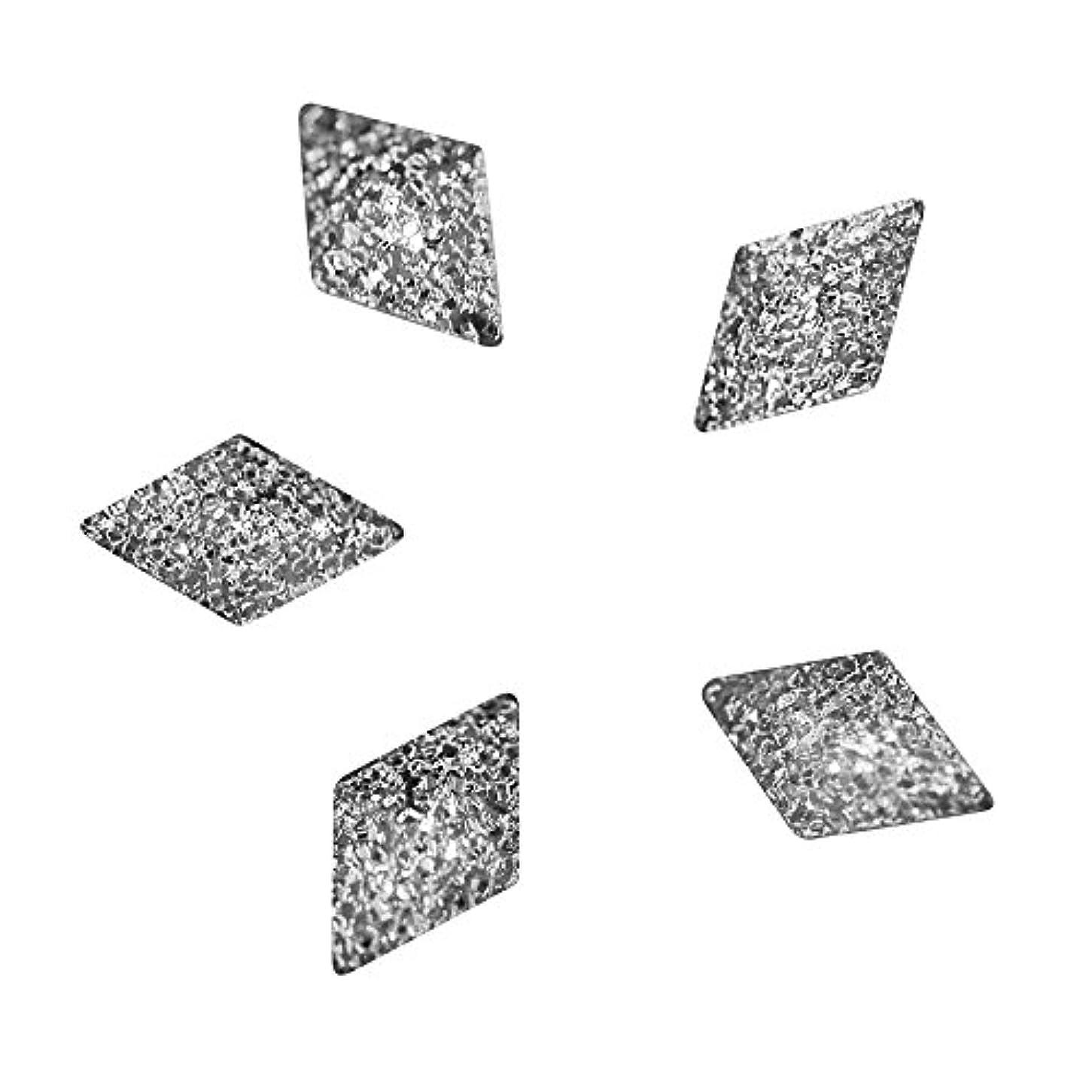 トリップ石化するトラフBonnail ラフスタッズシルバー ダイヤ5×3mm
