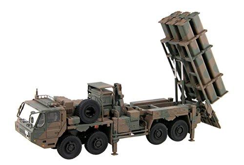 ピットロード 1/72 SGFシリーズ 陸上自衛隊 12式地対艦誘導弾 ミサイルパーツ付き レジンキット SGF09