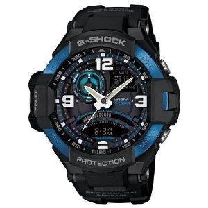 [カシオ]CASIO G-SHOCK Gショック SKYCOCKPIT スカイコックピット 腕時計 新品 メンズ GA-1000-2B [並行輸入品]