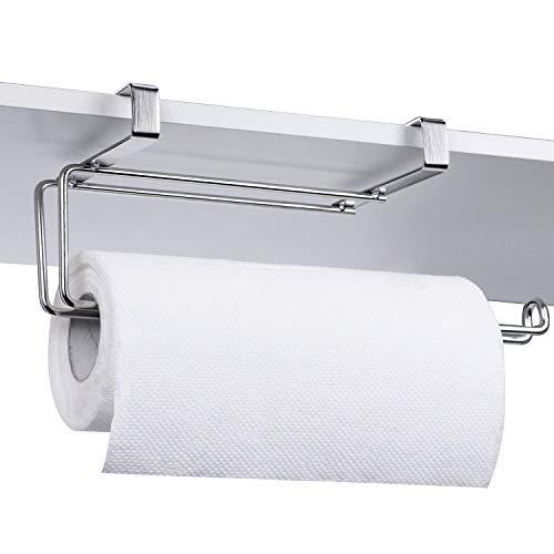 HULISEN タオルペーパー掛け ステンレス製 壁掛け 穴開け不要 洗面所 雑巾掛け タオルハンガー (タオルペーパー掛け)