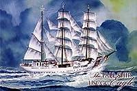 Minicraftコレクション–The Tall Ship–USCGC Eagle–1000Piece日本スタイルジグソーパズル、20x 30インチ