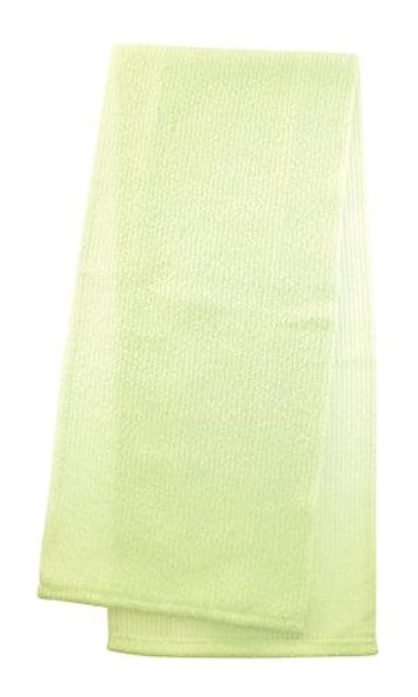 マーナ  ボディタオル 「とろり」 グリーン B576G