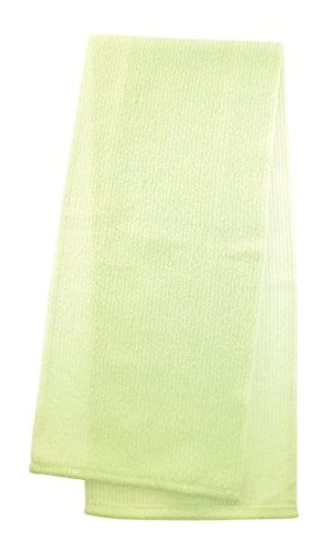 スパイメルボルンなぞらえるマーナ  ボディタオル 「とろり」 グリーン B576G