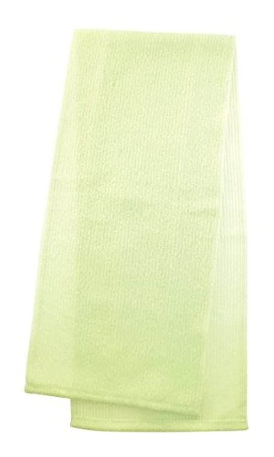 規制するエイリアス精度マーナ  ボディタオル 「とろり」 グリーン B576G