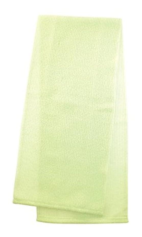 通訳しみ枕マーナ  ボディタオル 「とろり」 グリーン B576G